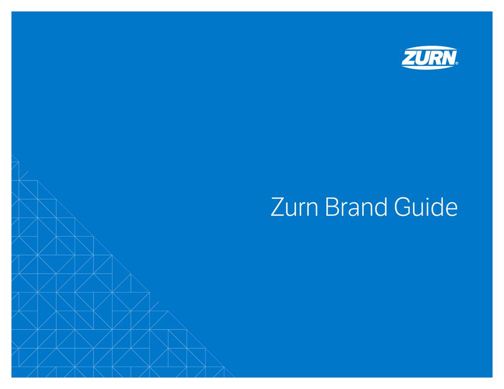 Zurn logo | Zurn Brand Guide-2019
